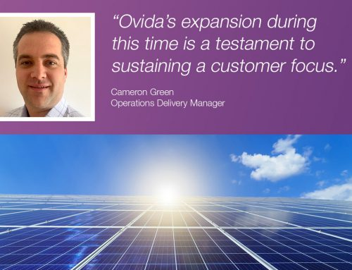 Operations Delivery Manager Cameron Green joins the Ovida team